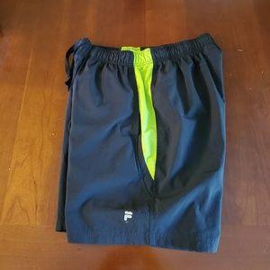 Fila shorts ladies size Large